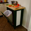 Kitchen Trash Cans , 8 Nice Kitchen Island With Garbage Bin In Kitchen Category
