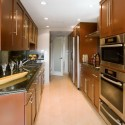 Kitchen With Island Floor , 7 Good Galley Kitchen With Island Floor Plans In Kitchen Category