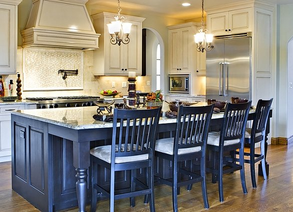 Furniture , 7 Cool Kitchen Island Stools With Backs : Kitchen island chairs