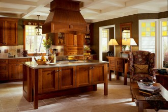 650x520px 7 Wonderful Kraftmaid Kitchen Island Picture in Kitchen