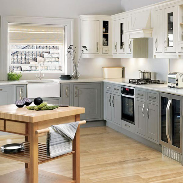 Kitchen , 5 Ideal Shaped Kitchen Layouts : L-Shaped Kitchen Design Ideas
