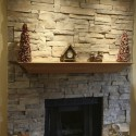 Ledge Stone design , 7 Unique Stone Veneer Fireplace Pictures In Furniture Category
