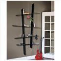 Leena Angled Bookshelf in Black , 8 Good Angled Bookshelves In Furniture Category
