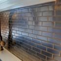 Meta Steel Over Ceramic , 9 Gorgeous Porcelain Subway Tile Backsplash In Kitchen Category