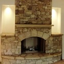 Natural Stone , 7 Popular Stacked Stone Fireplaces In Furniture Category