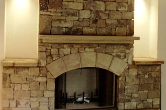 556x600px 7 Nice Stack Stone Fireplaces Picture in Furniture