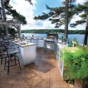 Outdoor Kitchen Island , 6 Fabulous Prefab Outdoor Kitchen Grill Islands In Kitchen Category