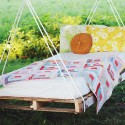 Pallet Swing Bed , 7 Wonderful Outdoor Canopy Swing Bed In Bedroom Category