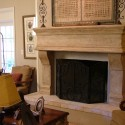 Rustic Cast Stone , 6 Fabulous Rustic Fireplace Surrounds In Furniture Category