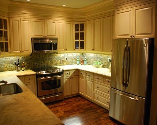 Kitchen , 7 Nice U Shaped Kitchen Remodel : Shaped Kitchen Designs