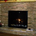 Stack Stone Fireplace Design , 8 Unique Pictures Of Stacked Stone Fireplaces In Furniture Category