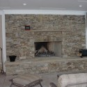 Stacked Stone Fireplace , 7 Popular Stacked Stone Fireplaces In Furniture Category