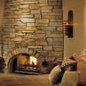 Stone Fireplace , 6 Gorgeous Stone Veneer Fireplace Surround In Furniture Category