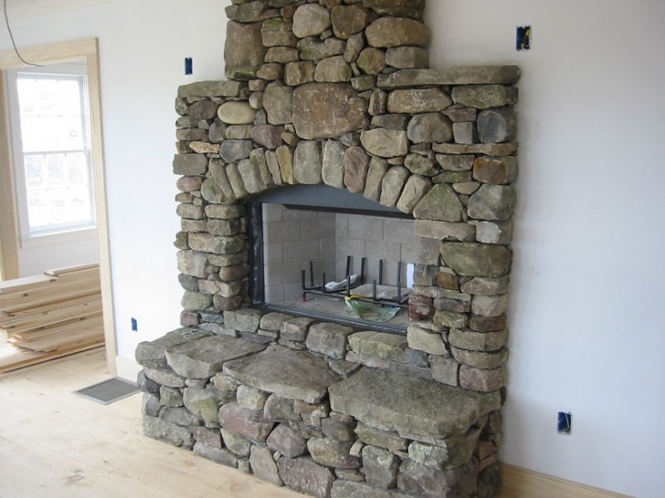 Furniture , 7 Wonderful Pics Of Stone Fireplaces : Stone Fireplace Pictures