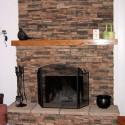 Stone Fireplace , 7 Wonderful Pics Of Stone Fireplaces In Furniture Category