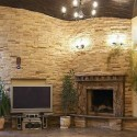 Stone Fireplaces , 8 Beautiful Stacked Stone Fireplace Pictures In Furniture Category