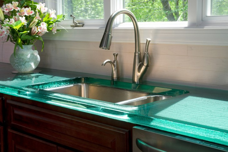 Furniture , 8 Top Think Glass : ThinkGlass Countertop