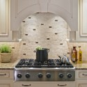 Tile Backsplash Ideas , 7 Nice Glass Subway Tile Backsplash Ideas In Kitchen Category
