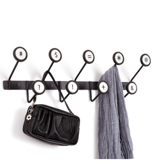 Furniture , 7 Gorgeous Modern Coat Hooks Wall Mounted : Umbra Scribe Coat Hooks