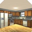 Kitchen , 6 Nice 10×10 kitchen layout with island : Viewing Kitchen