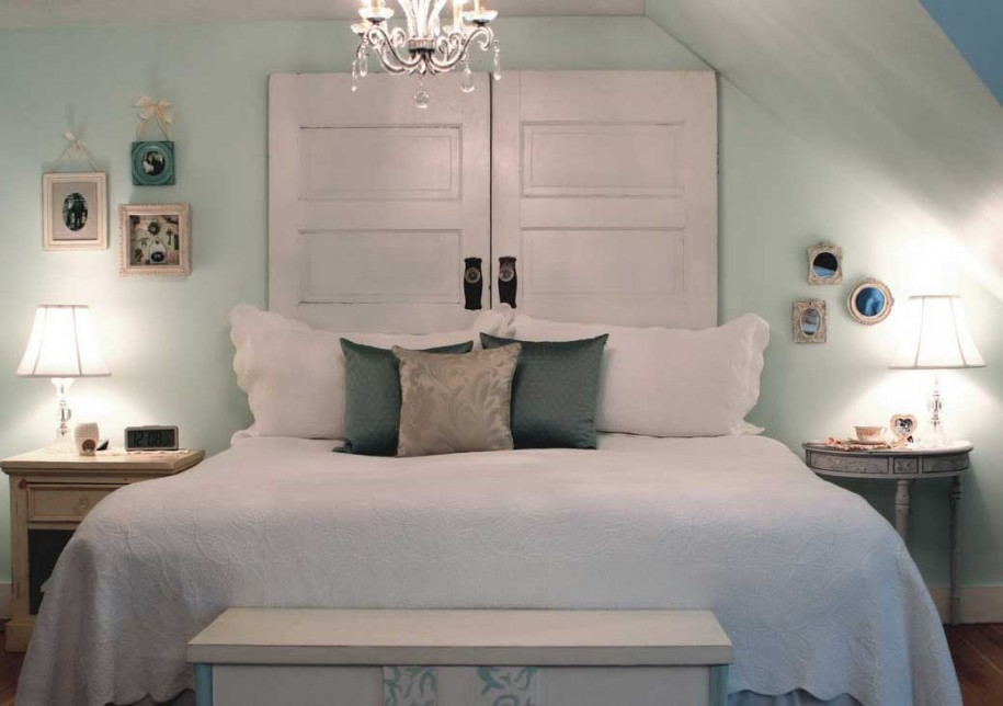 Ideas For Homemade Headboards white door homemade : 7 awesome homemade headboards ideas