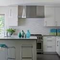 White Textured Subway , 8 Cool White Subway Tile Backsplash Ideas In Kitchen Category