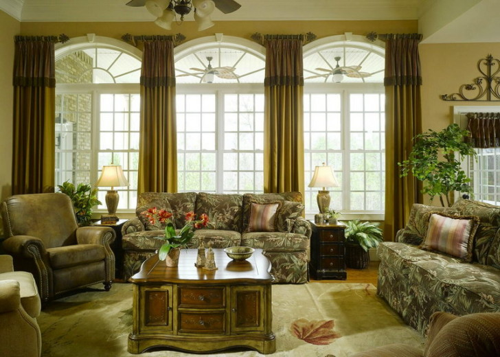 Furniture , 7 Beautiful Window Treatment Ideas For Bay Windows : Window Treatment Ideas