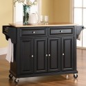 Wood Top Kitchen Cart , 7 Unique Mainstays Kitchen Island Cart Natural In Kitchen Category
