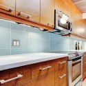 backsplash and bathroom tile ideas , 7 Nice Glass Subway Tile Backsplash Ideas In Kitchen Category