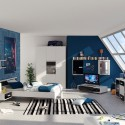 bedroom pictures , 5 Cool Bedroom Ideas For Teenage Guys In Bedroom Category