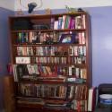 bookcase design , 7 Fabulous Criss Cross Bookshelf In Furniture Category