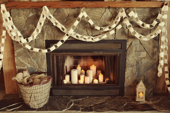 Furniture , 5 Gorgeous Candle Fireplace Insert : Candle Stand