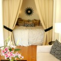 cool alcove bed , 7 Charming Homemade Bed Headboards In Bedroom Category