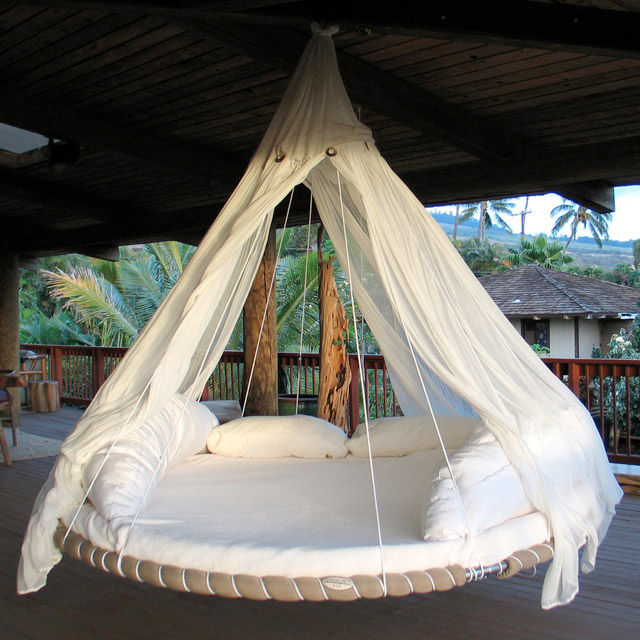640x640px 8 Cool Floating Bed Hammock Picture in Furniture