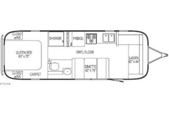 533x400px 6 Brilliant Airstream Floor Plans Picture in Apartment