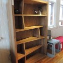 funky angled bookcase , 8 Good Angled Bookshelves In Furniture Category