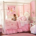 girl bedroom ideas , 4 Charming Little Girl Canopy Beds In Bedroom Category
