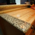 granite tile , 7 Charming Recycled Material Countertops In Furniture Category