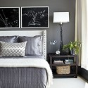 grey bedroom , 6 Nice Calming Paint Colors For Bedrooms In Bedroom Category