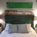 homemade headboard design , 6 Wonderful Homemade Headboards For King Size Beds In Bedroom Category