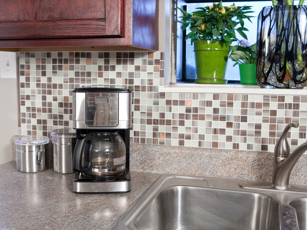 Furniture , 6 Nice Diy Network Backsplash Kit : kitchen backsplash