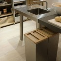 kitchen interiors , 8 Nice Kitchen Island With Garbage Bin In Kitchen Category