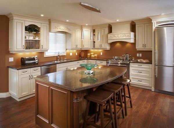 Kitchen , 8 Top Kitchen Layouts With Islands : kitchen layout island