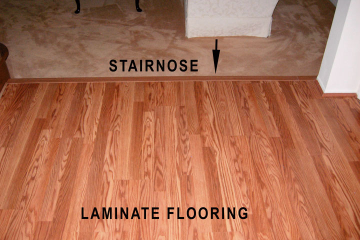 Furniture , 6 Nice Pergo Vs Laminate : laminate nosing