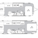 larger bathroom the floor plans , 7 Top Airstream Floorplans In Apartment Category