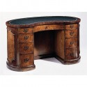 mahogany furniture , 7 Awesome Kidney Shaped Desks In Furniture Category