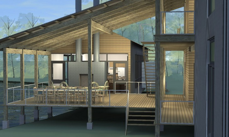 Homes , 8 Good Prefab Porches : Modular Porch House Deck
