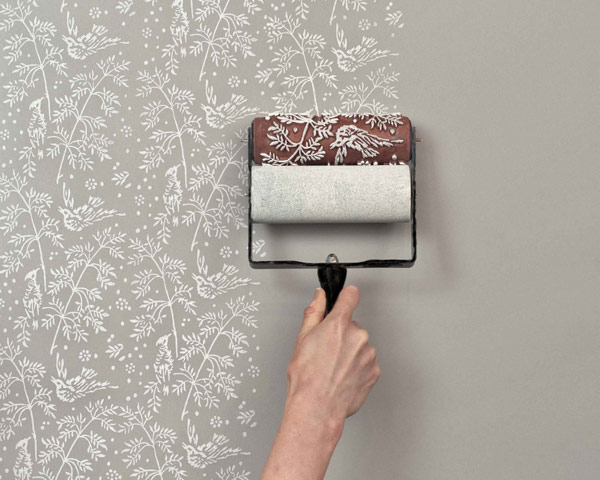 Furniture , 4 Best Patterned Paint Rollers : patterned paint roller