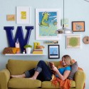 photo frames , 5 Nice Creative Ways To Hang Pictures Without Frames In Furniture Category
