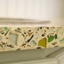 recycled glass countertop , 7 Charming Recycled Material Countertops In Furniture Category